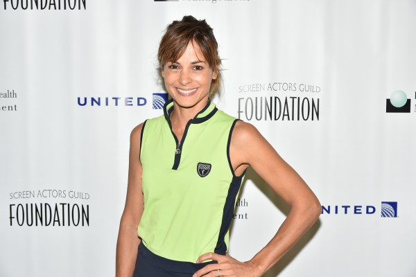 Stephanie Szostak at the Screen Actors Guild Foundation 2nd Annual New York Golf Classic